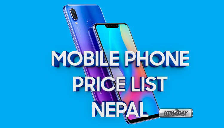 Mobile Phone Price List in Nepal