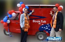 "US Embassy launches ""BookTuk"" mobile library"