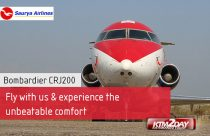 Saurya Airlines adds another Bombardier CRJ-200 to its fleet