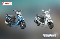 Hero scooters unveils new models of Maestro Edge and Pleasure in Nepal