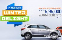 Hyundai offers cash discount on winter scheme