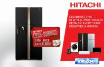 Hitachi brings New Year 2075 offer on its products