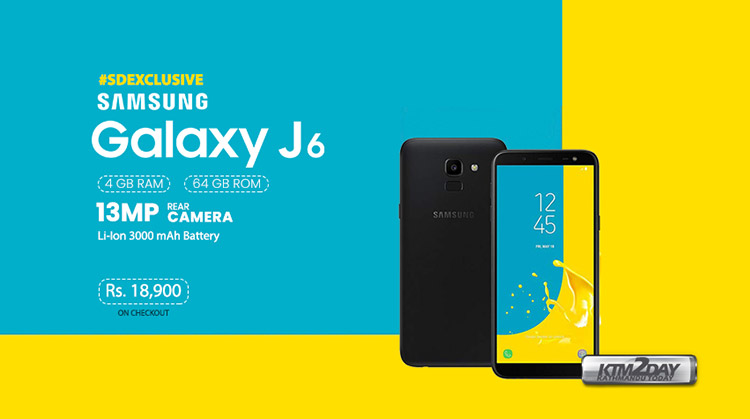 Samsung Galaxy J6 - March Sale 2019