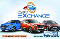 Hyundai Exchange scheme from 2-5 August