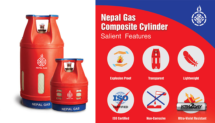 Nepal Gas Composite Cylinder