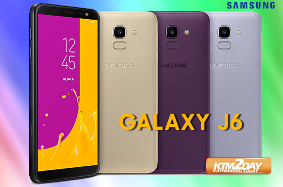Samsung Galaxy J6 Price in Nepal