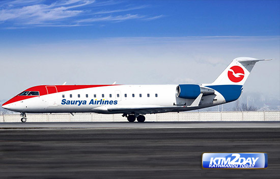 Saurya Airlines resumes operation with new management on board