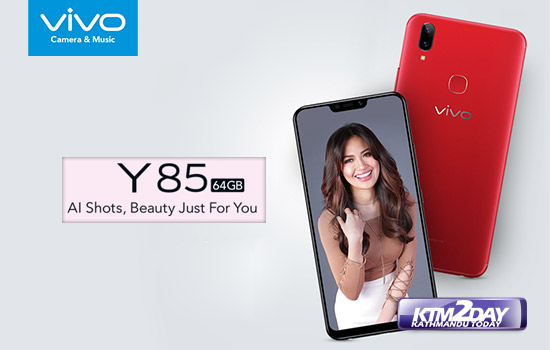 Vivo Y85 with notched display launched in Nepal