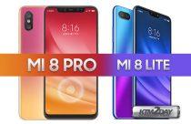 Xiaomi launches MI 8 LITE and MI 8 PRO