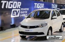 Tata Tigor EV showcased at NADA Auto Show 2018