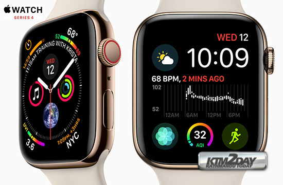 5bc56033db5 Apple Watch 4 Specification