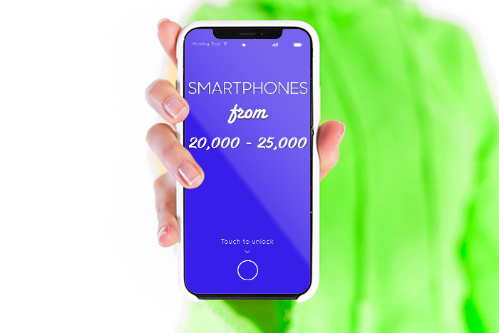Smartphones from Rs20,000-25,000 Nepal
