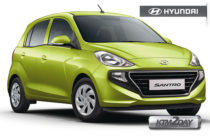 Hyundai launches new Santro with new features and design