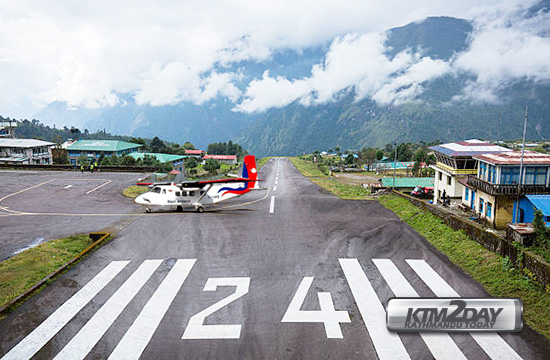 Nepal-Airlines-Lukla