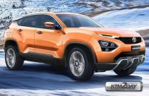 Tata Harrier based on Land Rover D8 Platform to launch in early 2019