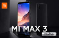Xiaomi Mi Max 3 - Phablet with 6.9 inch screen and 5500 mAh battery
