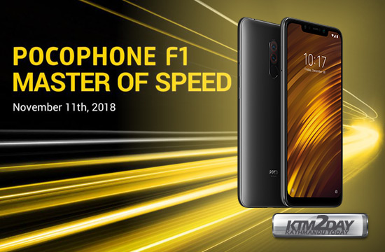 Pocophone F1 Price in Nepal-Specs,Features & Launch