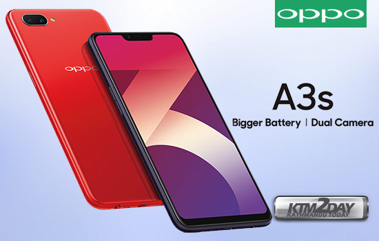 Oppo-A3S-Nepal