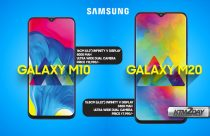Samsung Galaxy M20 and M10 launched with notched display and bigger battery