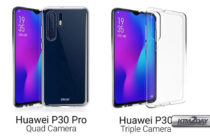 Huawei P30 Pro and P30 designs revealed by case maker Olixar