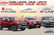 Isuzu launches MU-X, D-Max V-Cross and D-Max S-Cab in Nepali market