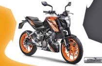 KTM Duke 125 with ABS launched