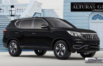 Mahindra Alturas G4 developed by SsangYong launched