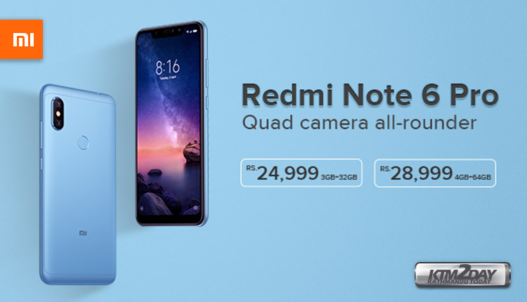 Xiaomi Redmi Note 6 Pro Price In Nepal Specs Features Ktm2day Com