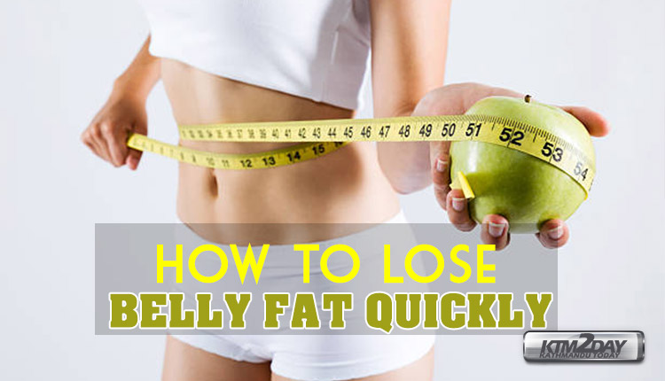 proper way to lose belly fat