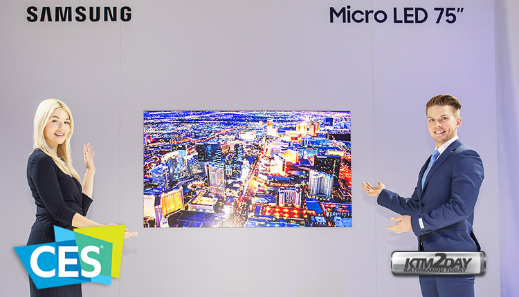 MicroLED TV