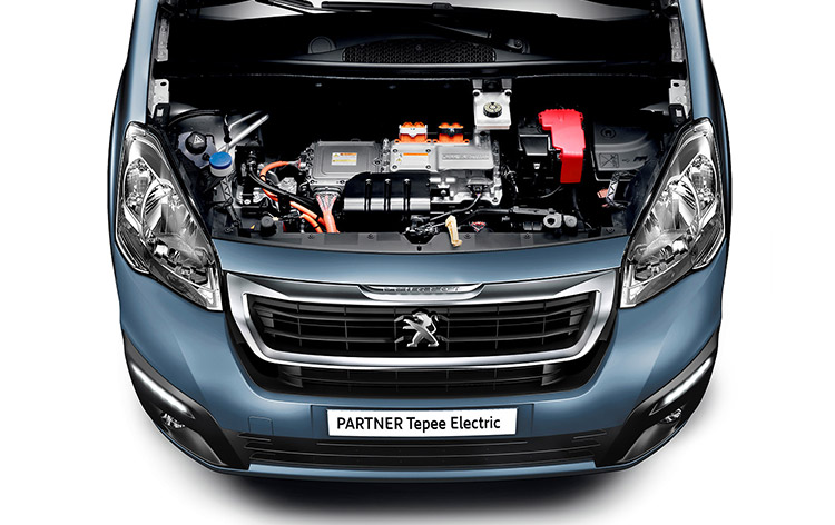 Peugeot-Partner-Tepee-Electric-Engine