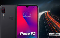 Poco F2 render appears online, shows drop-notch design