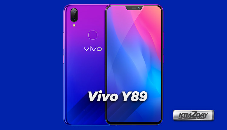 cc4e9e2e0 Vivo Y89 launched with Snapdrapgon 626 and refined notch design ...