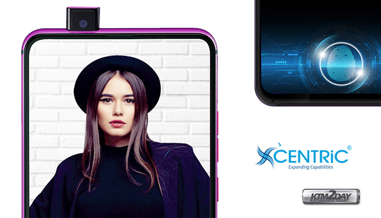 7db5da072 CENTRiC Launches Pop-Up Selfie Camera Smartphone  S1  at MWC 2019 ...