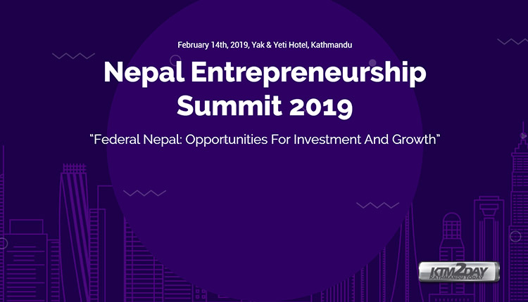 Nepal Entrepreneurship Summit 2019