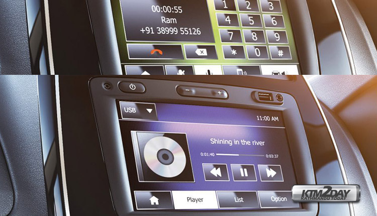 Renault-Kwid-infotainment-system