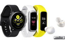 Samsung presents 3 New Wearables : Galaxy Watch, Fit and Buds