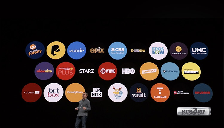 Apple-streaming-services