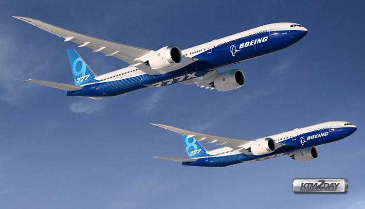 Boeing 777X launched