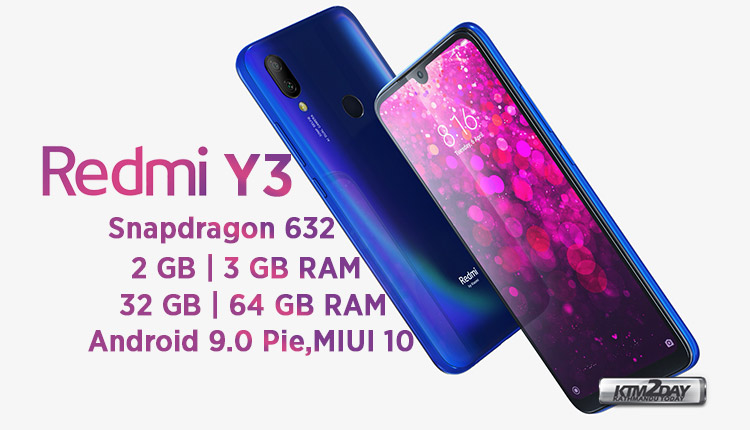 Redmi-Y3-Specification