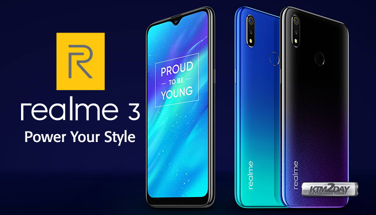 37fb7b5fedd Realme 3 Price in Nepal - Features