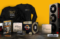 AMD Celebrates 50 Years and Launches Special Versions of AMD Ryzen 7 2700X and Radeon VII