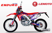 Lemoto LRF 250 Enduro and Motard Launched in Nepali market