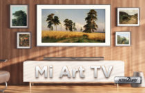 Xiaomi announces Mi ART TV with 4K screen, thin frames and an art mode
