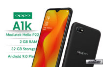 Oppo A1k launched in Nepali market