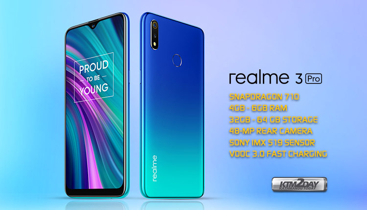 Realme 3 Pro Price in Nepal today - Specification and Features