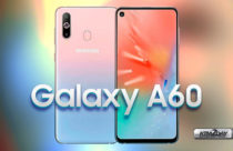 Samsung Galaxy A60 with triple camera,in-display camera and
