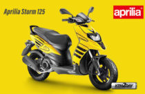 Aprilia Storm 125 launched, based on Aprilia SR 125