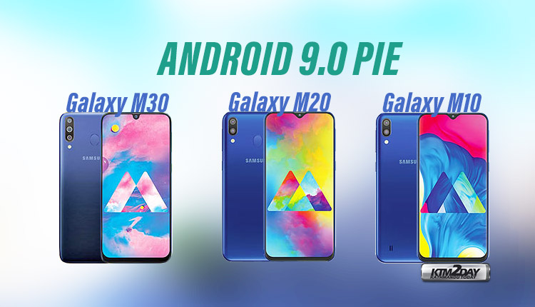 Galaxy M-Series Android Pie