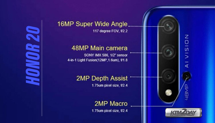Honor-20-Camera-Specification